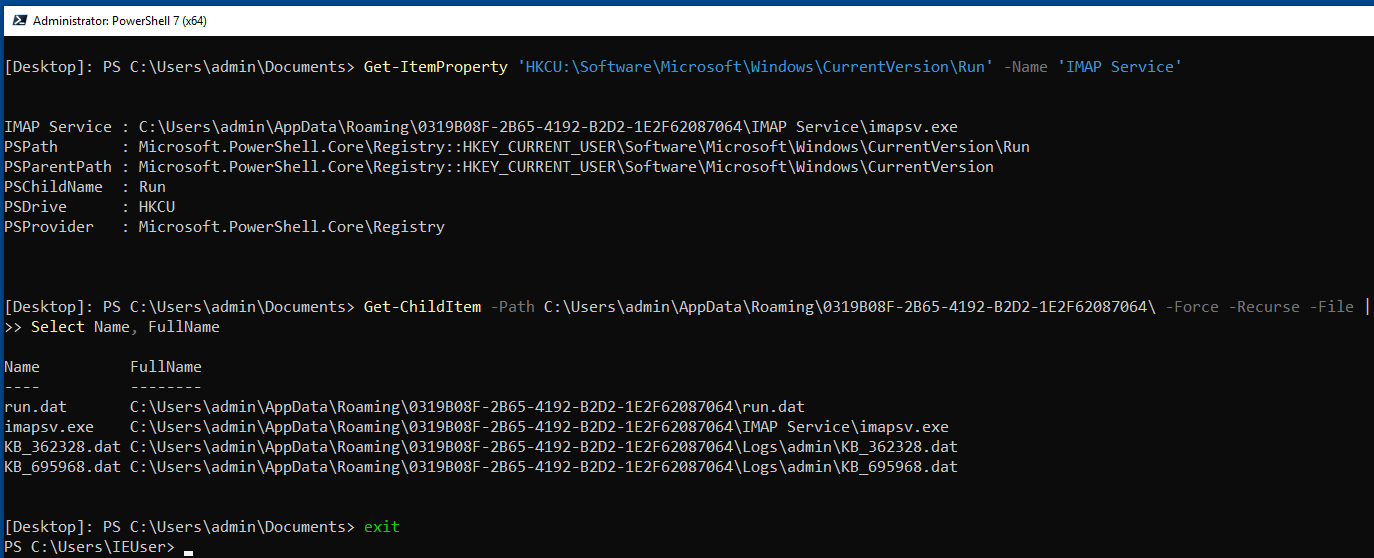 PowerShell Commands for Incident Response-Execution of PowerShell Command in PS Remoting